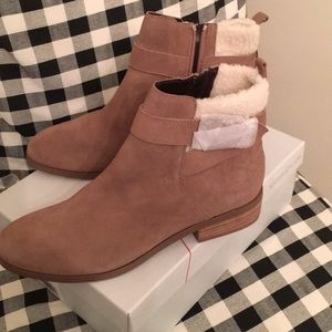 Sole society Austen booties size 9 NEW